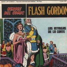 Cómics: FLASH GORDON. BURU LAN. 1971. Nº 4. Lote 11476436