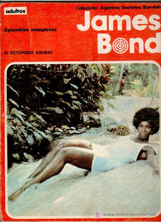 JAMES BOND, BURULAN, EL OCTOPODO ASESINO Y ROSTRO DE ACERO, 120 PGS. (Tebeos y Comics - Buru-Lan - James Bond)