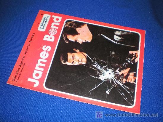 COLECCION AGENTES SECRETOS BURU LAN. FASCICULO Nº 6 - JAMES BOND (Tebeos y Comics - Buru-Lan - James Bond)