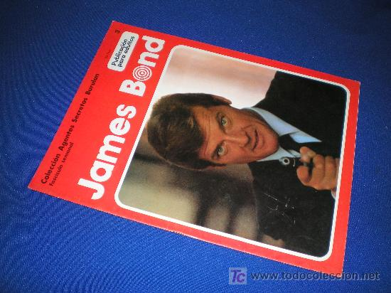 COLECCION AGENTES SECRETOS BURU LAN. FASCICULO Nº 3 - JAMES BOND (Tebeos y Comics - Buru-Lan - James Bond)