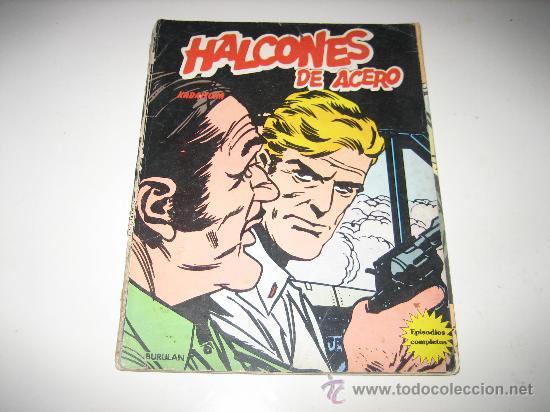 HALCONES DE ACERO - KADAITCHA - ED. BURULAN 1974 (Tebeos y Comics - Buru-Lan - Halcones de Acero)