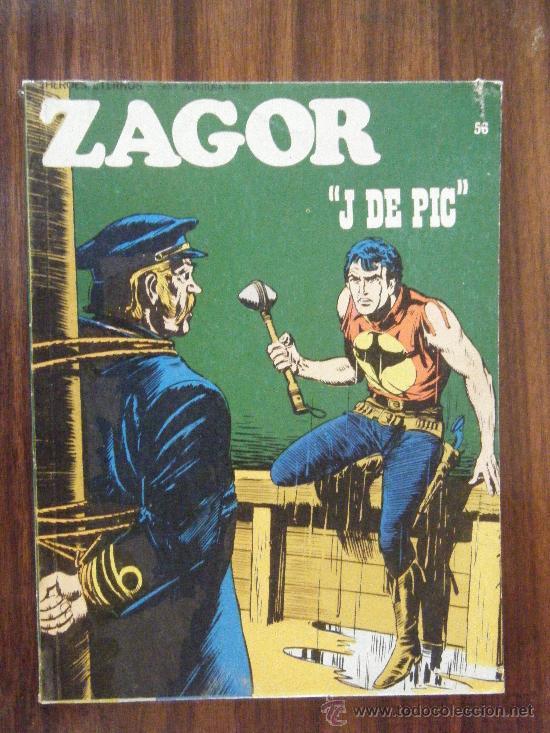 ZAGOR N.56 BURULAN (Tebeos y Comics - Buru-Lan - Zagor)