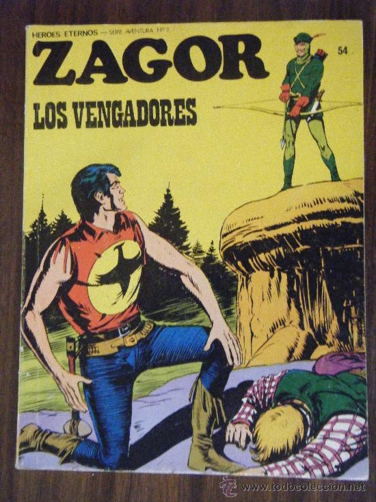 ZAGOR N.54 BURULAN (Tebeos y Comics - Buru-Lan - Zagor)