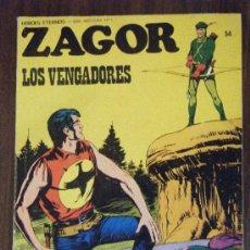 Cómics: ZAGOR N.54 BURULAN. Lote 13076542