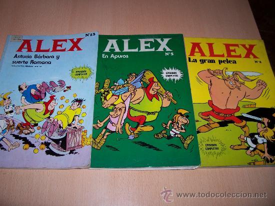 ALEX - NºS 2-5 Y 13 - BURU LAN EDICIONES (Tebeos y Comics - Buru-Lan - Otros)