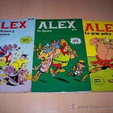 Cómics: ALEX - NºS 2-5 Y 13 - BURU LAN EDICIONES. Lote 25961700