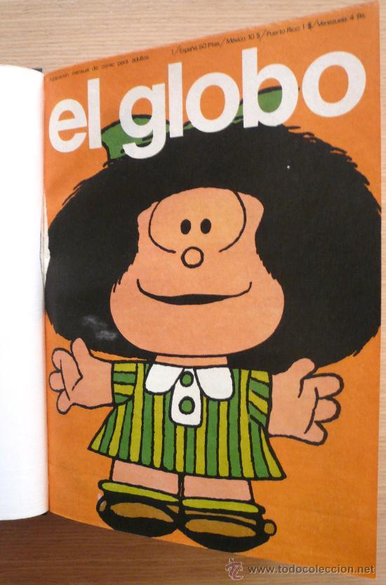 REVISTA EL GLOBO, NUMEROS 1 AL 10, ENCUDERNADOS (Tebeos y Comics - Buru-Lan - Otros)