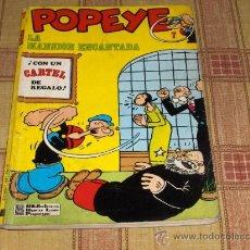 Cómics: POPEYE Nº 7. BIBLIOTECA BURU LAN 1971. 40 PTS.. Lote 13976401