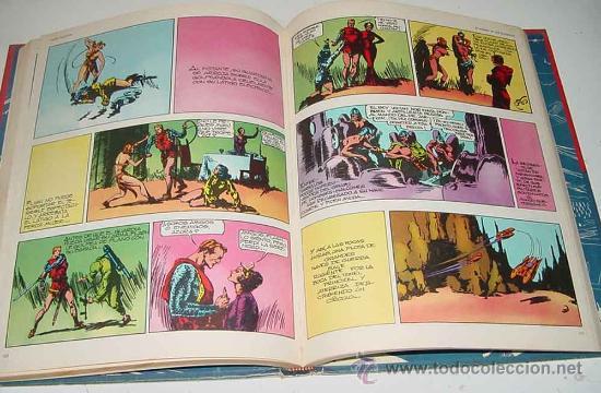 Cómics: TOMO 1 - FLASH GORDON - EL RAYO CELESTE - LOMO BLANCO Y AZUL - Ed. Burulan - AÑO 1972 - 200 pag. - I - Foto 2 - 18987648