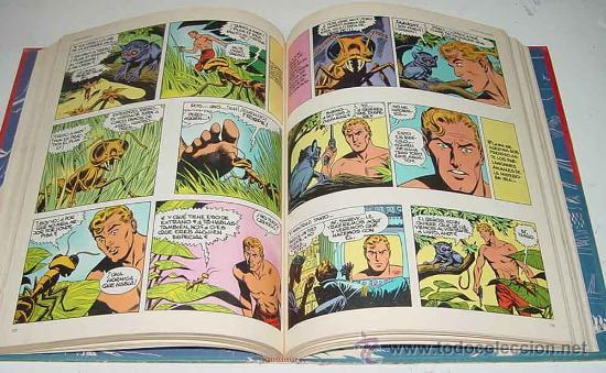 Cómics: TOMO 7 - FLASH GORDON - GUERRA EN MONGO - LOMO BLANCO Y AZUL - ED. BURU LAN - AÑO 1972 - 240 pag. - - Foto 2 - 18987651