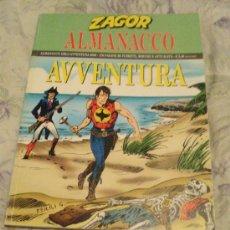 Cómics: ZAGOR ITALIANO INEDITO EN ESPAÑA.ALMANAQUE DE LA AVENTURA 2006. Lote 27421843