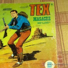 TEX Nº 24. BURU LAN 1972. 25 PTS. MASACRE.