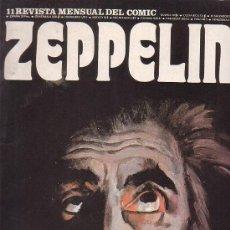 Cómics: ZEPPELIN Nº 11 REVISTA MENSUAL DEL COMIC - EDITA : BURU LAN EDICIONES 1974. Lote 16463025