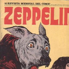 Cómics: ZEPPELIN Nº 10 REVISTA MENSUAL DEL COMIC - EDITA : BURU LAN EDICIONES 1974. Lote 15377404