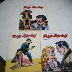Cómics: RIP KIRBY EDICIONES B.O. Nº 1, 2 Y 3 ALEX RAYMOND COLECCION COMPLETA. Lote 27055113