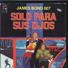 Cómics: SOLO PARA SUS OJOS JAMES BOND. Lote 15898220