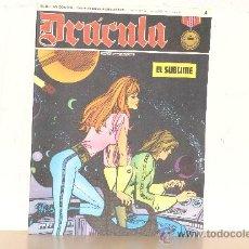 Cómics: DRACULA ESTEBAN MAROTO BURU LAN AÑO 1971 NO 4 . Lote 16386412
