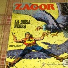 Cómics: ZAGOR Nº 40. BURU LAN 1972. 25 PTS. LA DIOSA NEGRA. MUY DIFÍCIL!!!!!!!!!!!. Lote 16443486