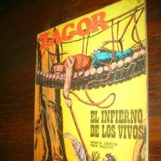 Cómics: ZAGOR Nº 27 BURULAN EL INFIERNO DE LOS VIVOS. Lote 16549669