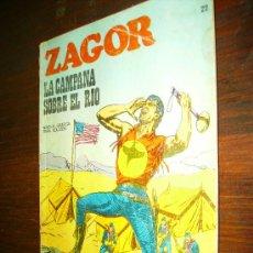 Cómics: ZAGOR Nº 22 BURULAN LA CAMPANA SOBRE EL RIO. Lote 16549783