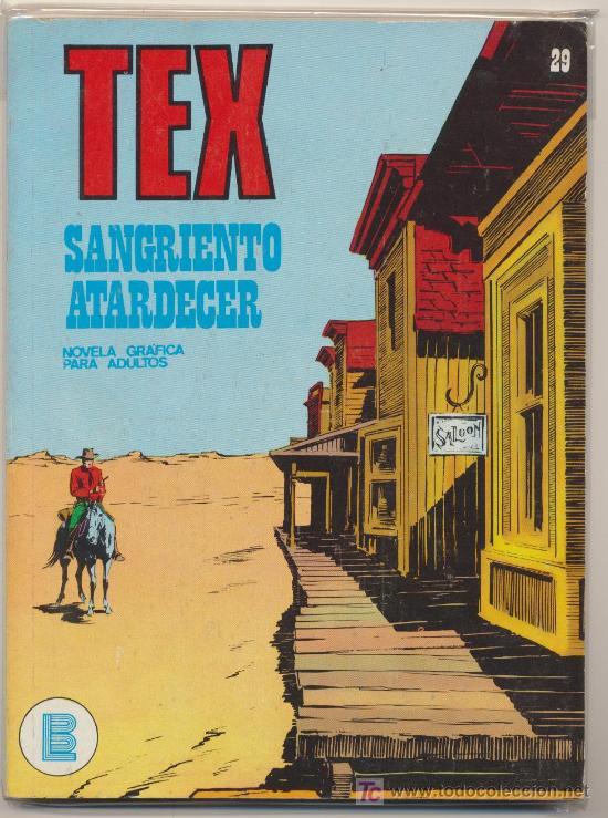TEX Nº 29. BURU LAN 1970. (Tebeos y Comics - Buru-Lan - Tex)