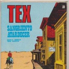Cómics: TEX Nº 29. BURU LAN 1970.. Lote 16851755