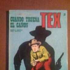 Cómics: TEX Nº 28 -BURU LAN- CUANDO TRUENA EL CAÑON. Lote 25798682