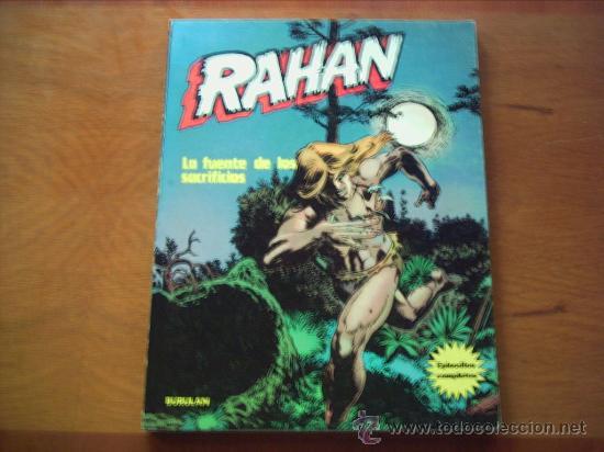 EDITORIAL BURU LAN . RAHAN . ALBUM EN RUSTICA. (Tebeos y Comics - Buru-Lan - Rahan)