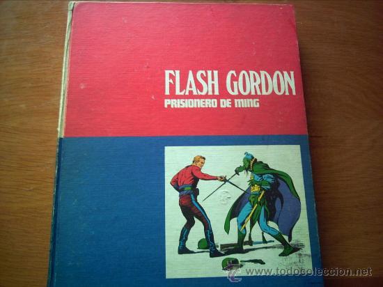 EDITORIAL BURU LAN .FLASH GORDON. TOMO 1 .PRISIONERO DE MING (Tebeos y Comics - Buru-Lan - Flash Gordon)