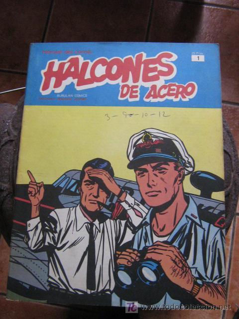 BURU LAN HALCONES DE ACERO Nº 1 (Tebeos y Comics - Buru-Lan - Halcones de Acero)