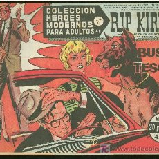 Cómics: COLECCION HEROES MODERNOS. SERIE C. RIP KIRBY. Nº 61.. Lote 18049968