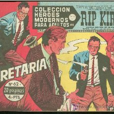 Cómics: COLECCION HEROES MODERNOS. SERIE C. RIP KIRBY. Nº 62.. Lote 18049980