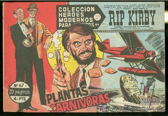 COLECCION HEROES MODERNOS. SERIE C. RIP KIRBY. Nº 67. (Tebeos y Comics - Buru-Lan - Rip Kirby)