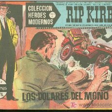 Cómics: COLECCION HEROES MODERNOS. SERIE C. RIP KIRBY. Nº 6.. Lote 18050304
