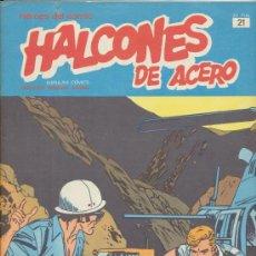 Cómics: HALCONES DE ACERO TOMO 2 Nº 21. BURU LAN 1974.. Lote 18227606