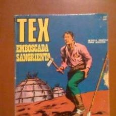 Cómics: TEX Nº 22 -- BURU LAN -- EMBOSCADA SANGRIENTA. Lote 25868997