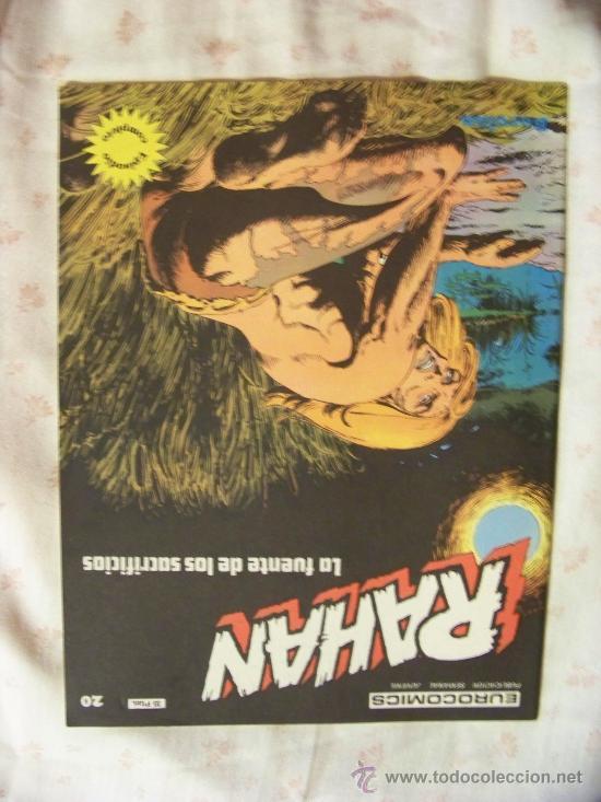 RAHAN N 20 BURU LAN (Tebeos y Comics - Buru-Lan - Rahan)