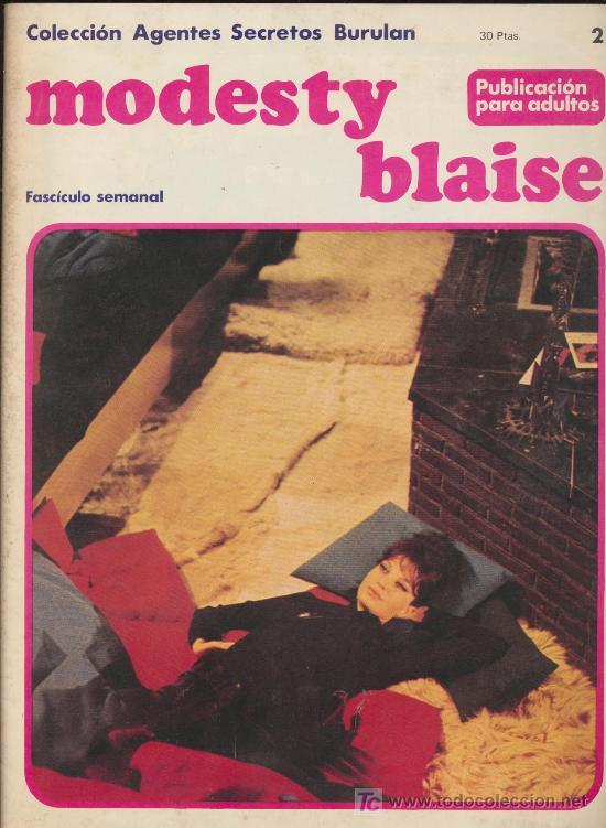 MODESTY BLAISE Nº 2 (Tebeos y Comics - Buru-Lan - Modesty Blaise)