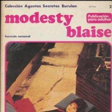 Cómics: MODESTY BLAISE Nº 2. Lote 18671846