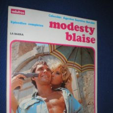 Cómics: COLECCION AGENTES SECRETOS BURU LAN - MODESTY BLAISE - EPISODIOS COMPLETOS. Lote 19158199