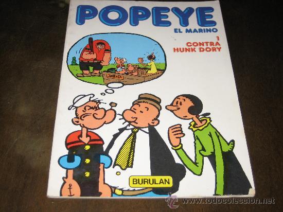 POPEYE EL MARINO Nº1 - CONTRA HUNK DORY - BURULAN 1983 (Tebeos y Comics - Buru-Lan - Popeye)