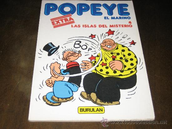 POPEYE EL MARINO Nº4 EXTRA - LAS ISLAS DEL MISTERIO - BURULAN 1983 (Tebeos y Comics - Buru-Lan - Popeye)