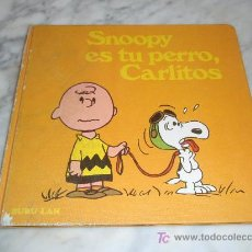 Cómics: SNOOPY ES TU PERRO CARLITOS, BURU LAN ,Nº 4 , 1972. Lote 26907329