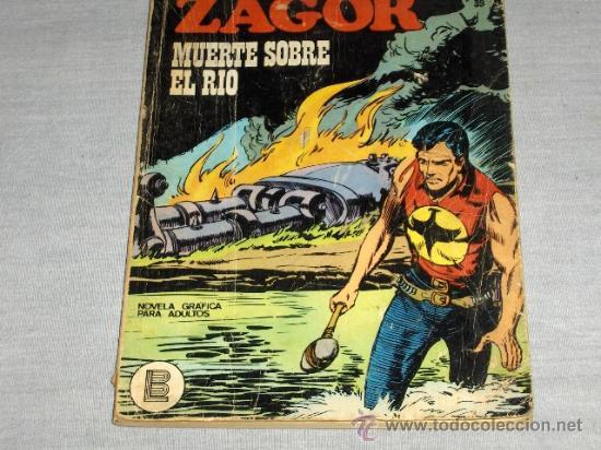 BURU LAN ZAGOR Nº 39. 1972. 25 PTS. DIFÍCIL!!!!!!!!!!!!!!!! (Tebeos y Comics - Buru-Lan - Zagor)