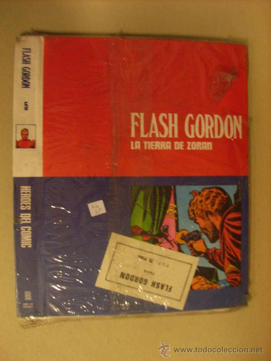 TAPAS DEL TOMO 5 DE FLASH GORDON BURU LAN. SIN USAR. (Tebeos y Comics - Buru-Lan - Flash Gordon)