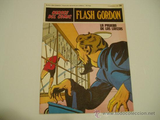 FLASH GORDON BURULAN Nº 26 (Tebeos y Comics - Buru-Lan - Flash Gordon)