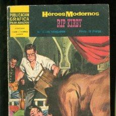 Cómics: HEROES MODERNOS. II EPOCA. RIP KIRBY. Nº 4.. Lote 19721236