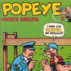 Cómics: POPEYE. POPEYE RECLUTA. TOMO Nº 14. EDICIONES BURULAN. AÑO 1971.. Lote 26403251