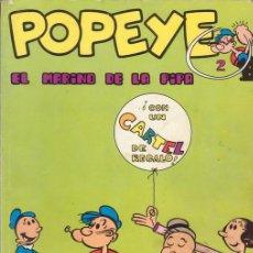 Cómics: POPEYE. EL MARINO DE LA PIPA. TOMO Nº 2. EDICIONES BURULAN. AÑO 1970.. Lote 26403252