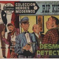 Cómics: HÉROES MODERNOS SERIE C Nº 35. RIP KIRBY.. Lote 20166737